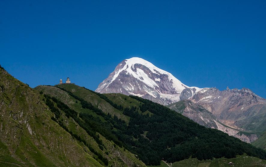 Widok na szczyt