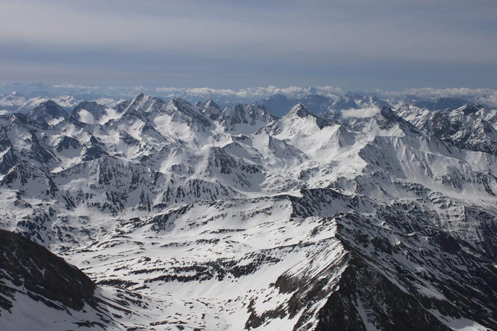 Widok ze szczytu